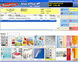 Kassensoftware / Kassenprogramm blue office